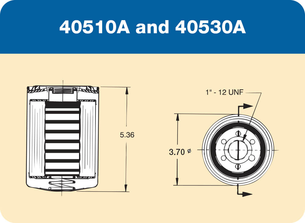 40510A and 40530A Diagram