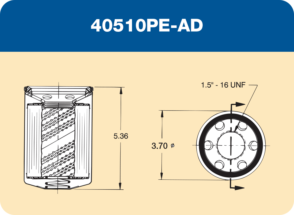 40502P-AD, 40505P-AD,  40510P-AD and 40530P-AD Diagram