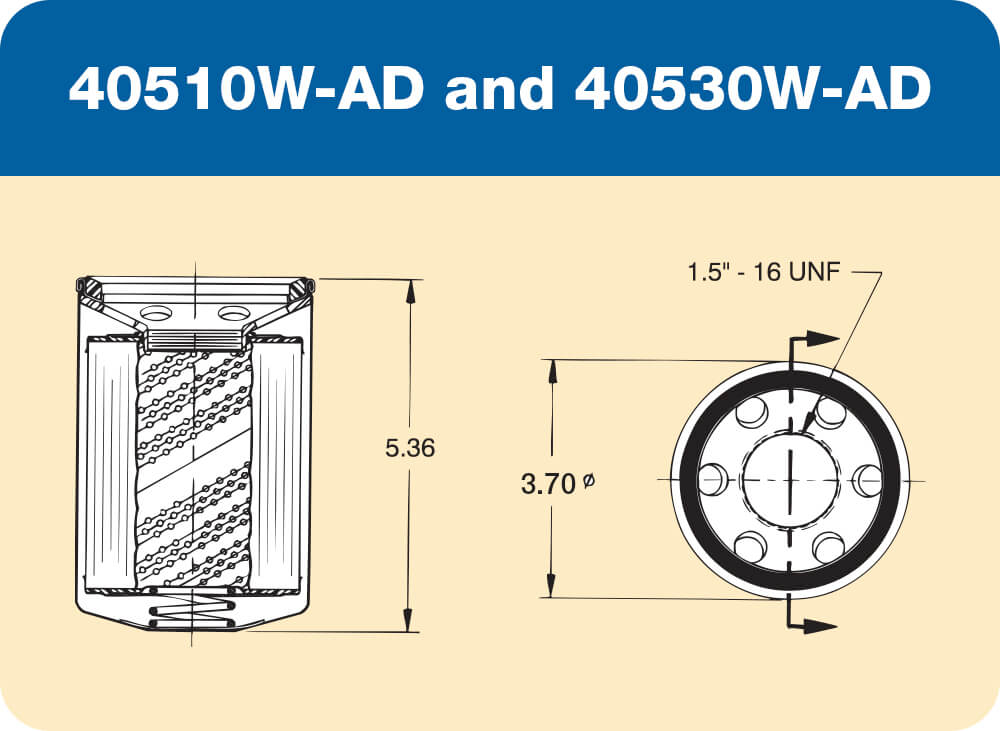 40510 W-AD and 40530W-AD Diagram