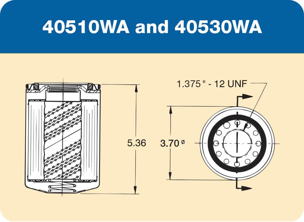 40510WA and 40530WA Diagram