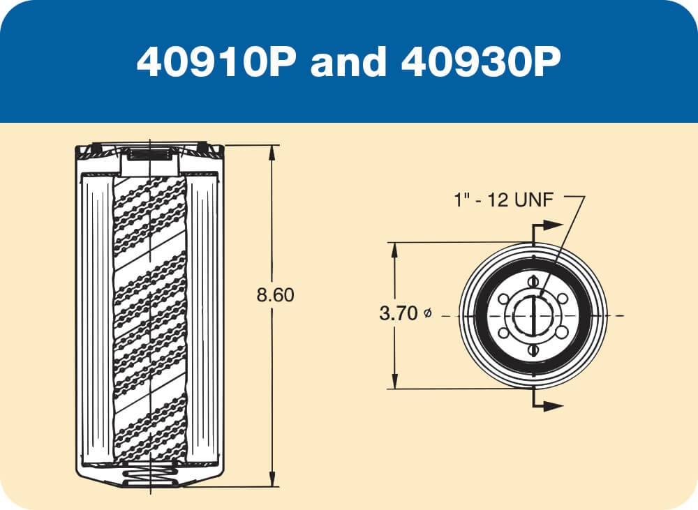40910 P and 40930 P Diagram