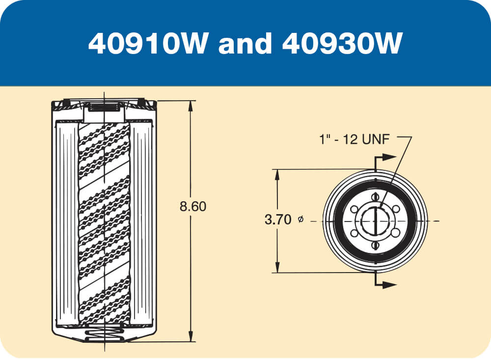 40910W and 40930W Diagram