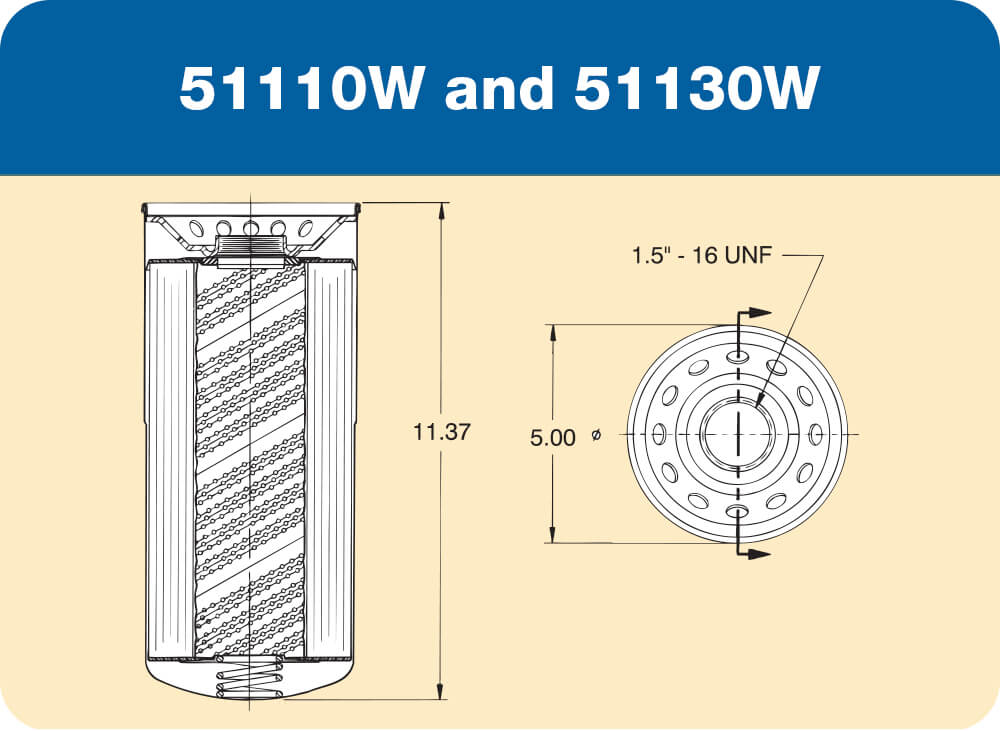 51110W and 51130W Diagram