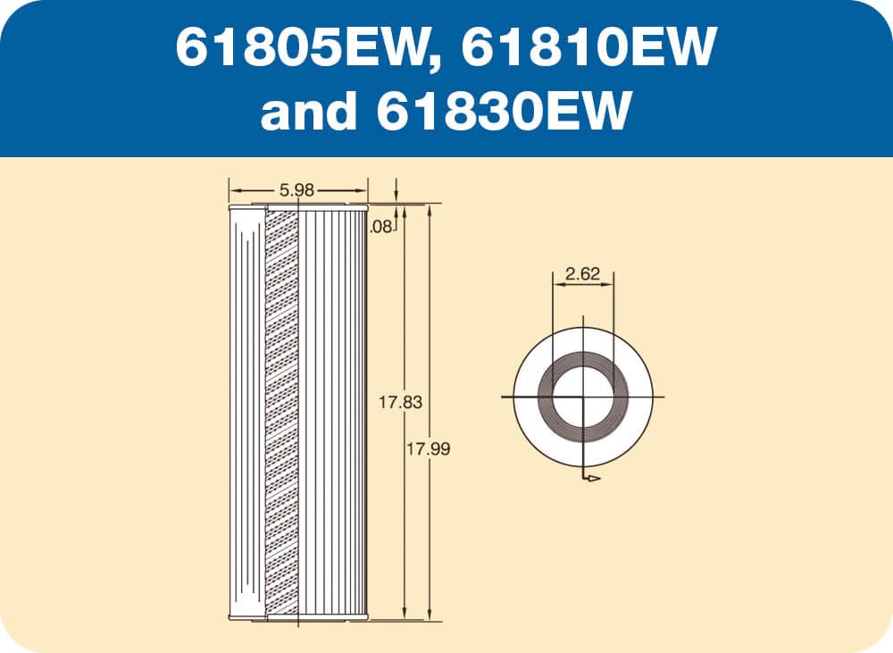 61805EW, 61810EW and 61830EW Diagram