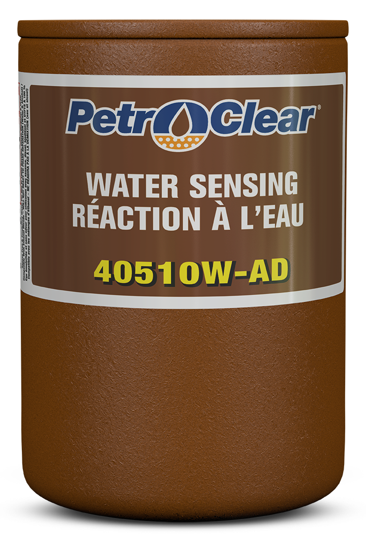 Brown 405W AD Series Agricultural Particulate Removing Water Sensing Spin-on Fuel Dispenser Filter