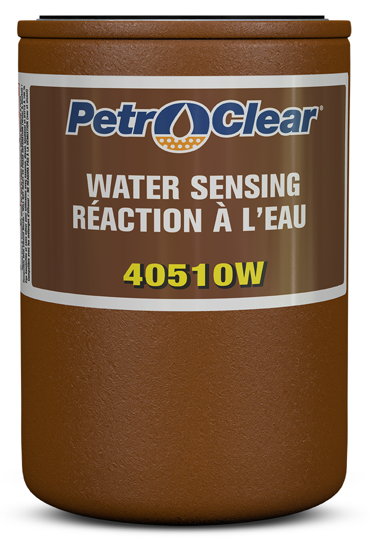 Brown 405W Series Particulate Removing Water Sensing Spin-on Fuel Dispenser Filter