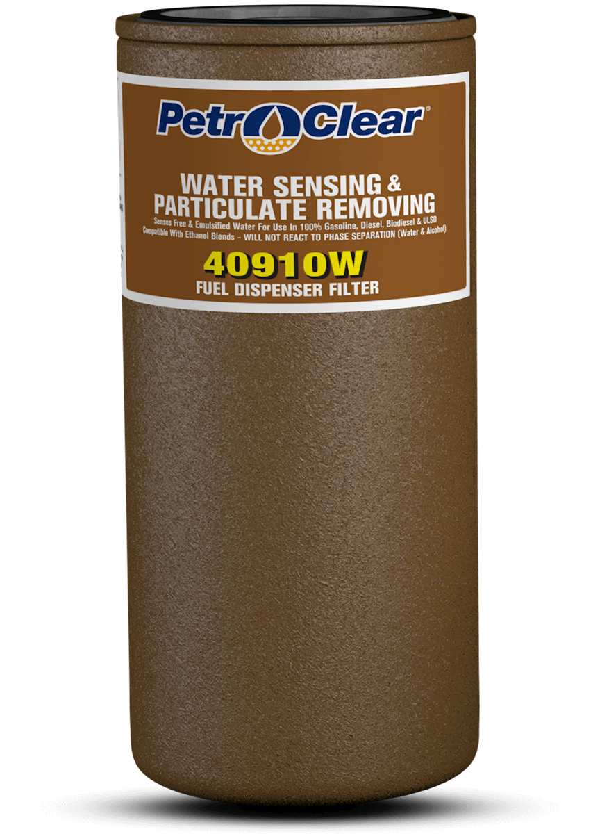 Brown 409W Series Particulate Removing Water Sensing Spin-on Fuel Dispenser Filter