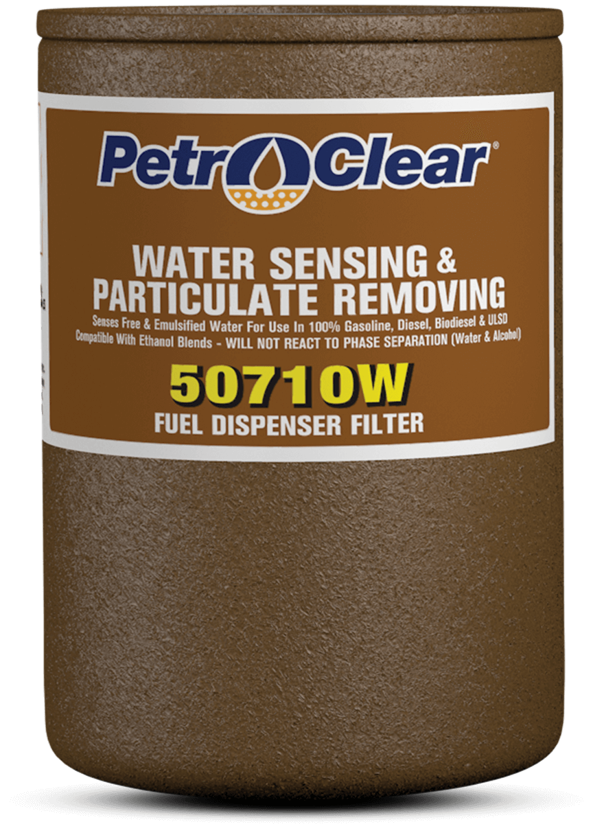 Brown 507W Series Particulate Removing Water Sensing Spin-on Fuel Dispenser Filter