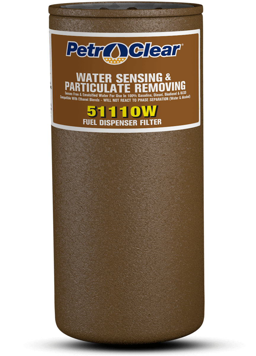 Brown 511W Series Particulate Removing Water Sensing Spin-on Fuel Dispenser Filter