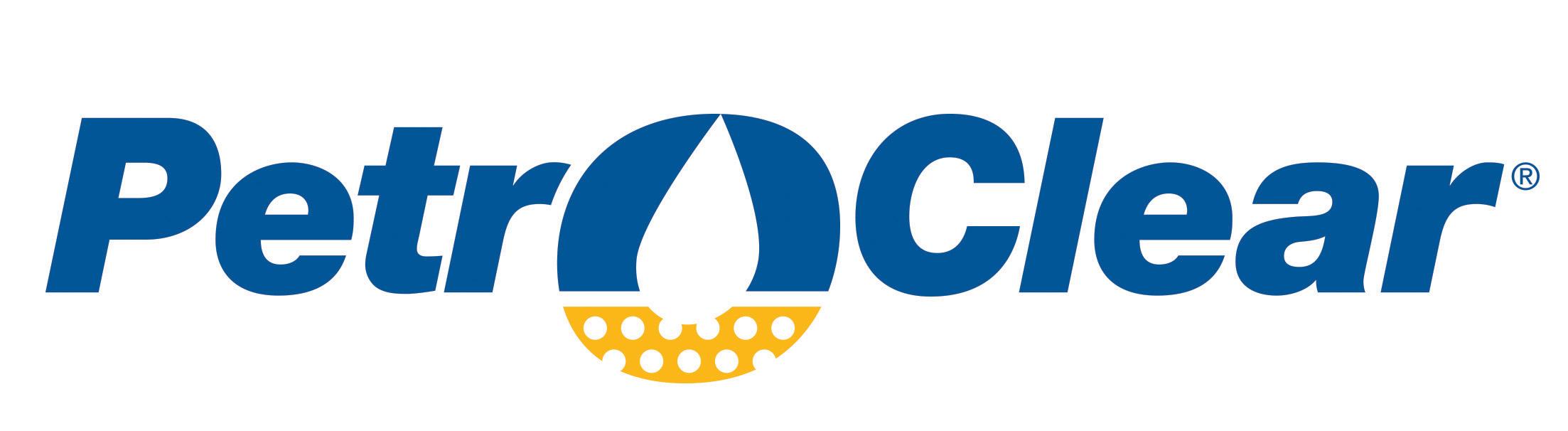 PetroClear Logo on White