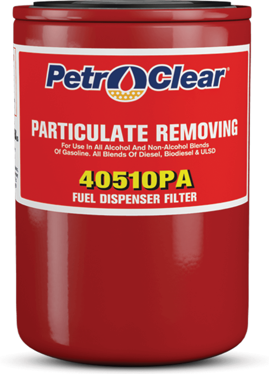 Red 405PA Series Agricultural Particulate Removing Spin-on Fuel Dispenser Filter