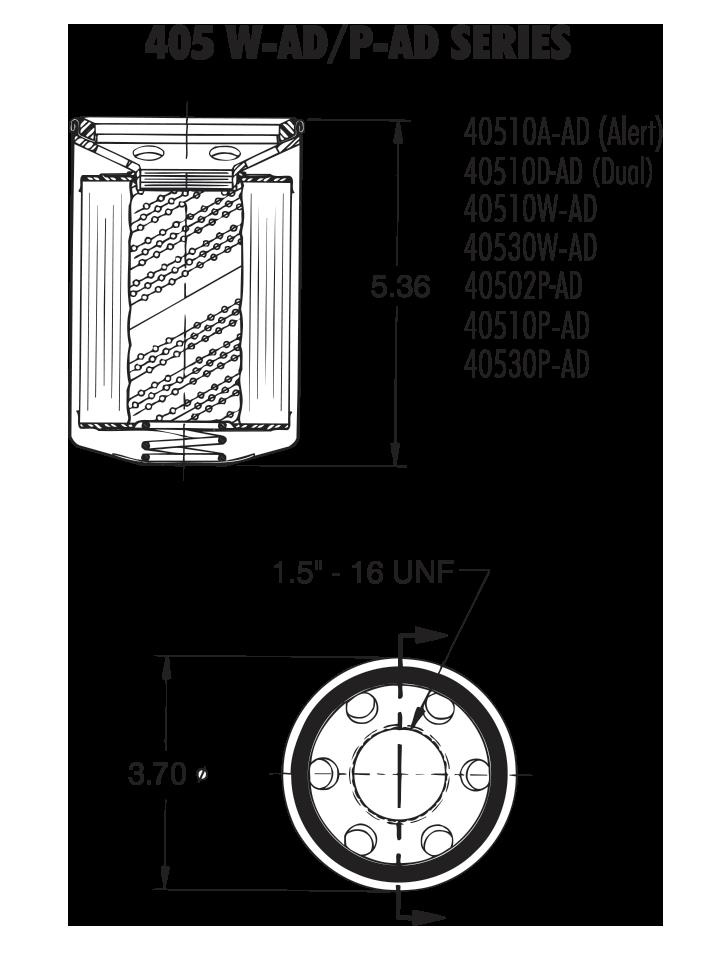 405 W-AD / P-AD Series