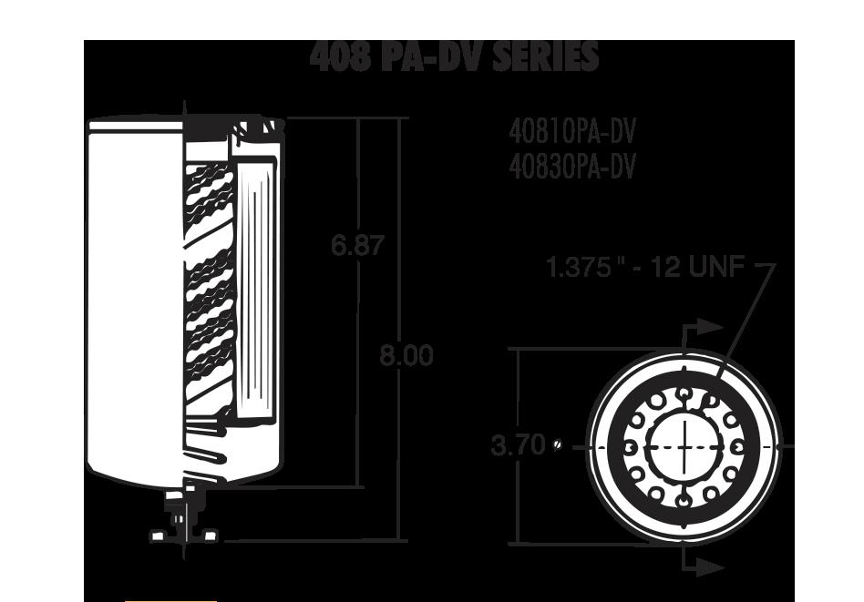 408 PA/DV Series